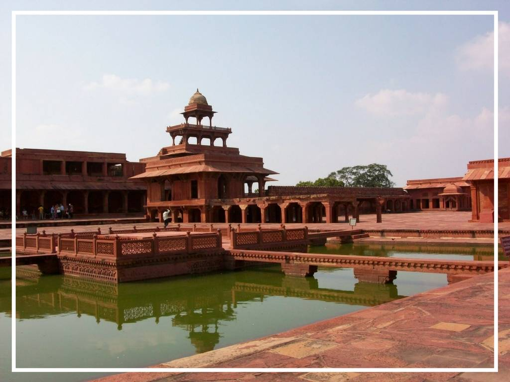 fatehpur sikri from the outside