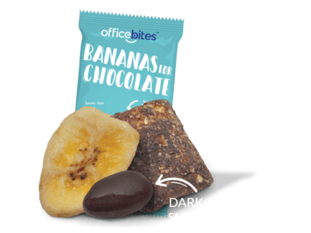 Bananas for chocolate snack