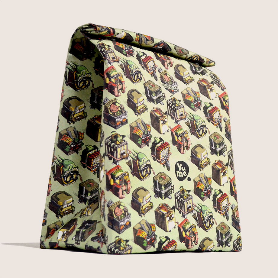 Термосумка Paper Lunch Bag Sushi от YuMe