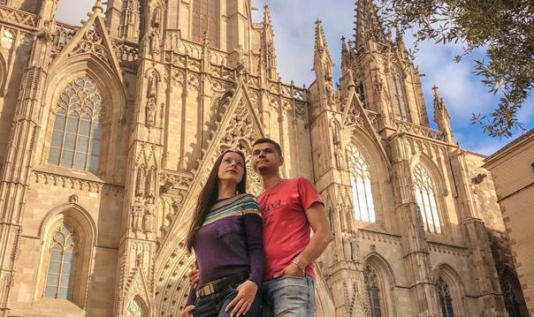 Пешеходная фотоэкскурсия по Готической Барселоне