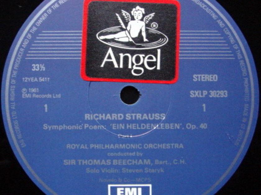 EMI HMV STAMP-DOG / BEECHAM, - R. Strauss Ein Heldenleben, NM!