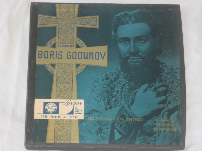 Kreshimer Baranovich - Mussorgsky Boris Godunov London XLLA 31