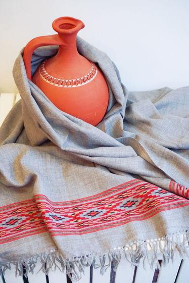 Большая гималайская шерстяная шаль