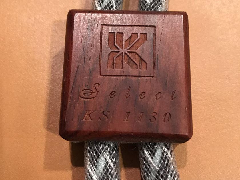 Kimber Kable Kimber select KS1130 2m pair xlr