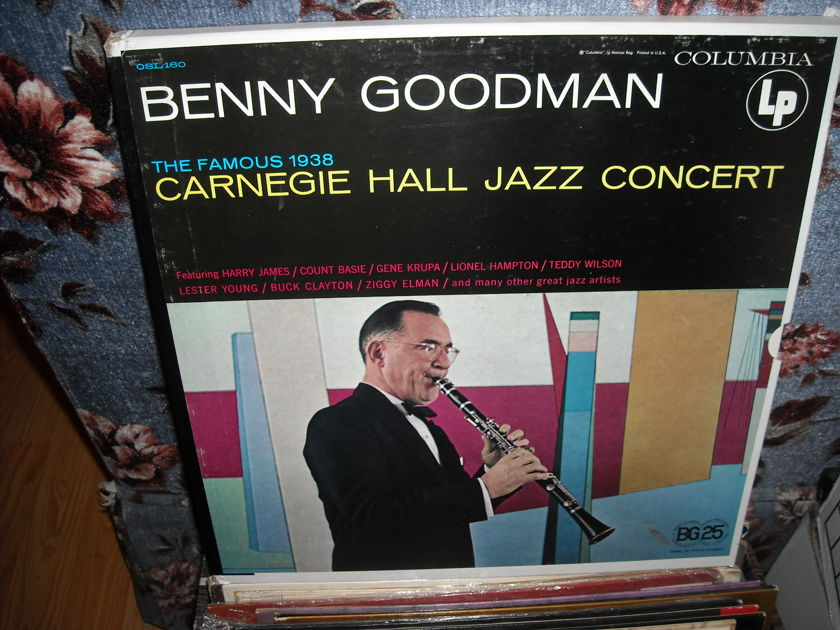 Benny Goodman - The Famous - 1938 Carnegie Hall Jazz Concert Columbia  2 LP Box Set (c)