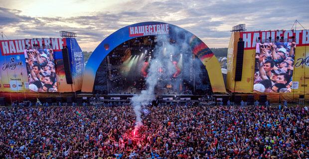 В «НАШЕСТВИИ-2019» приняли участие 143 коллектива, отыграв 6000 минут отличной музыки - Новости радио OnAir.ru