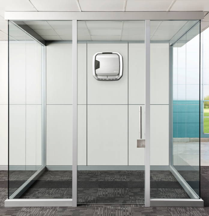 AeraMax 3 in a private meeting room