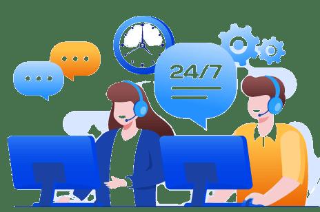 OBI Services Customer Support Header Image