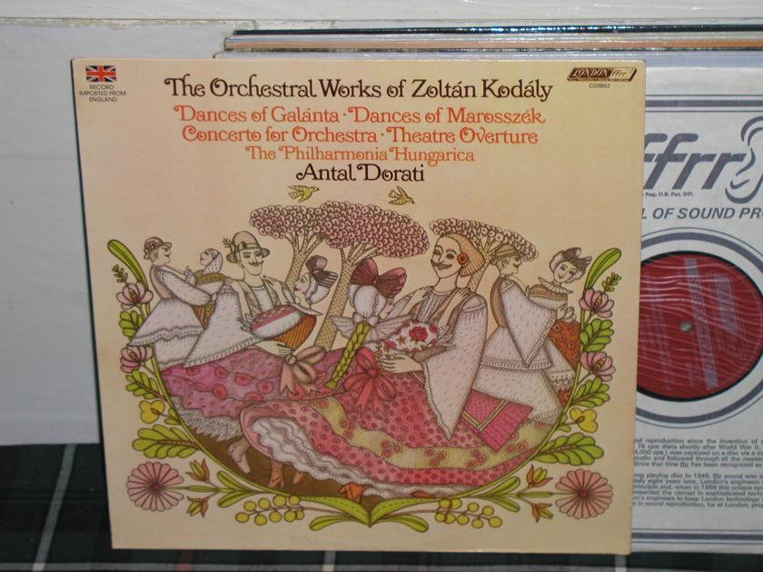 Dorati/TPH - Kodaly/Dances of Galanta LP London ffrr UK/Decca cs6862