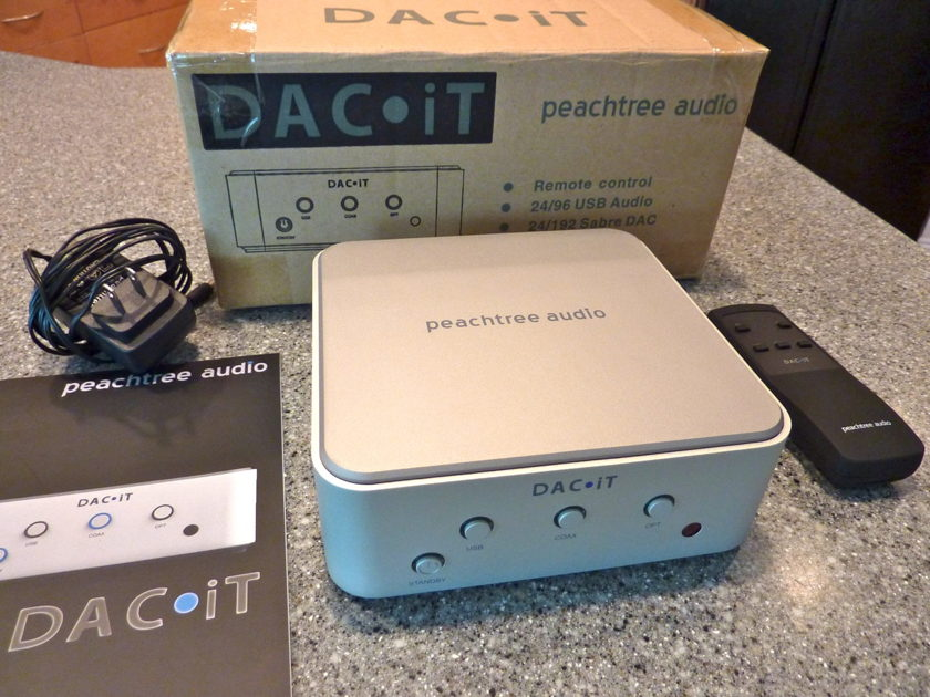peachtree audio DACiT Digital-to-Analog Converter