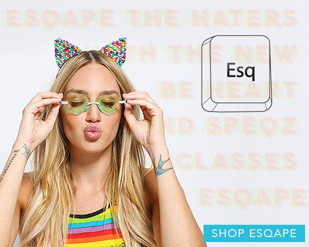 New Sunglasses from Esqape | Tiltedsole.com
