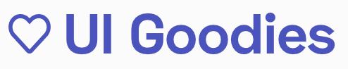 UI goodies logo