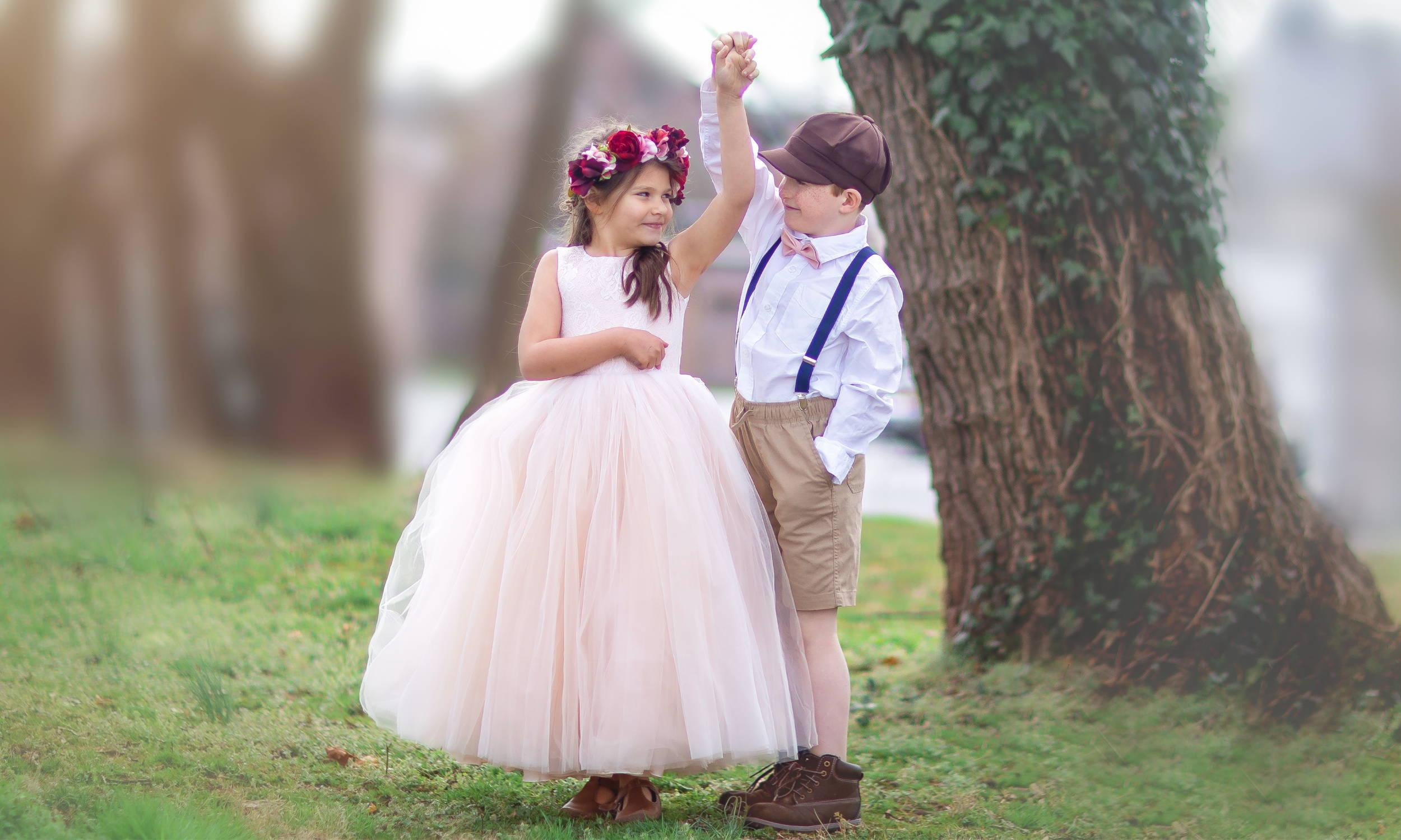 Ring Bearer & Flower Girl Twirling