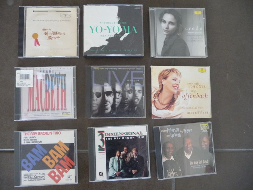 Jazz/Classical - lot