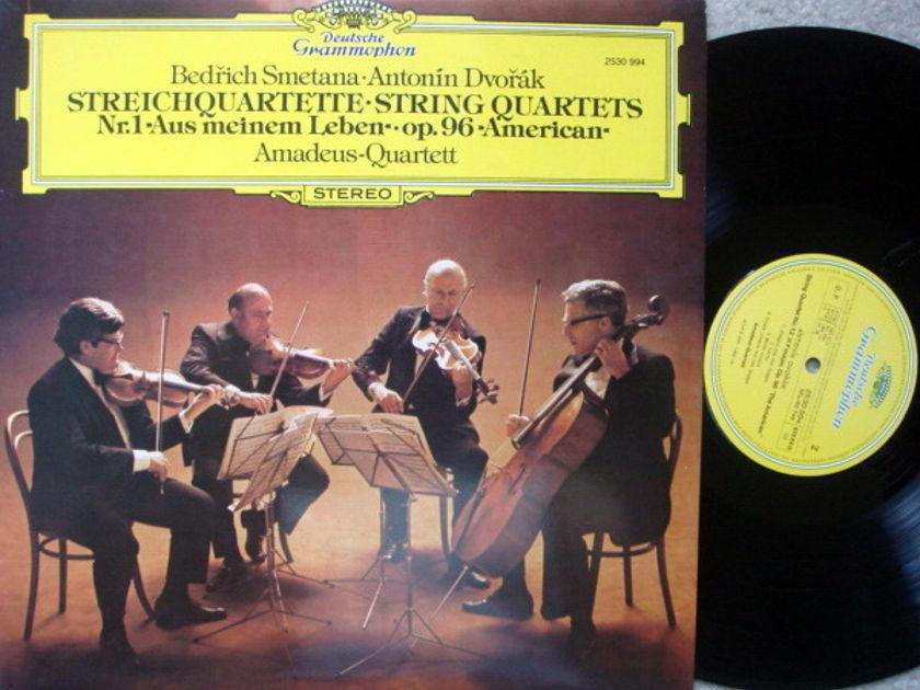 DG / Smetana, Dvorak String Quartets, - AMADEUS QUARTET, MINT!