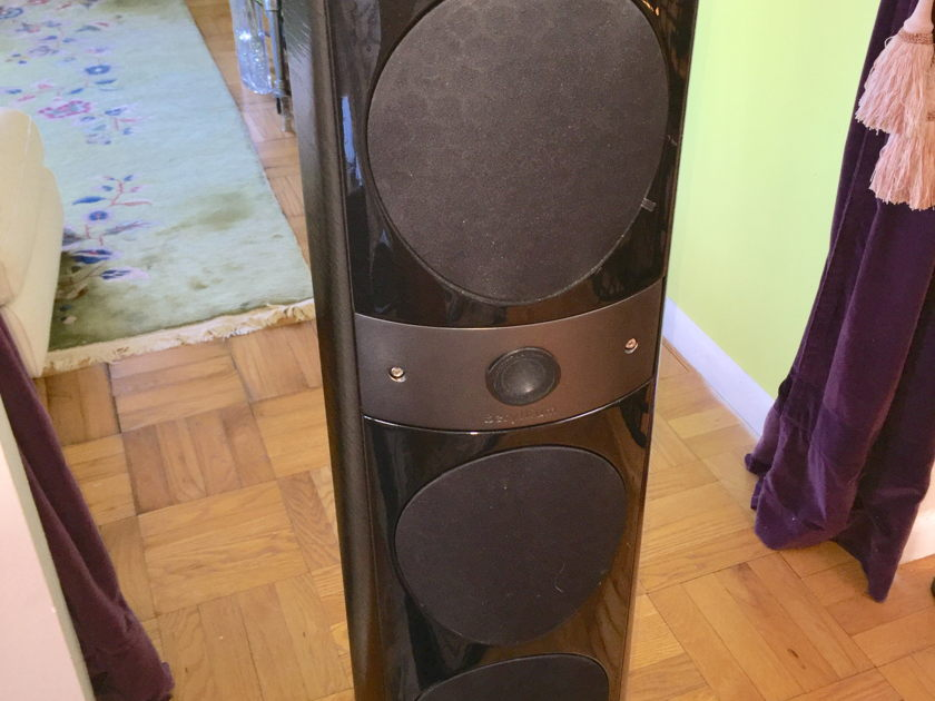 Focal Electra 1028 BE Full range floor standing black speakers