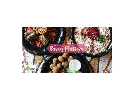 Catered Pick-Up Party Platters for 12 from Lebanese Taverna