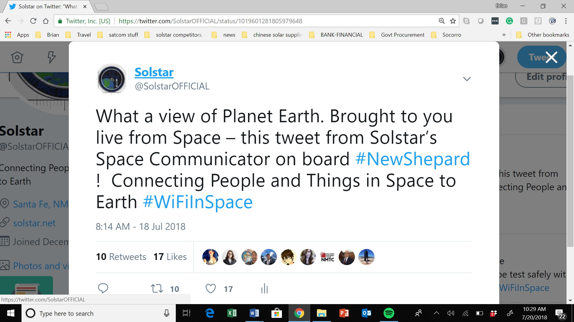 Tweet from Space July 18, 2018.png