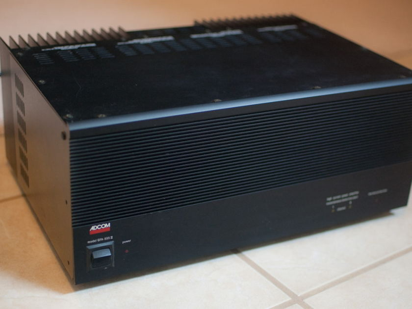 Adcom GFA-555II Upgraded And Modified. A true performer!  Free FedEx Shipping.