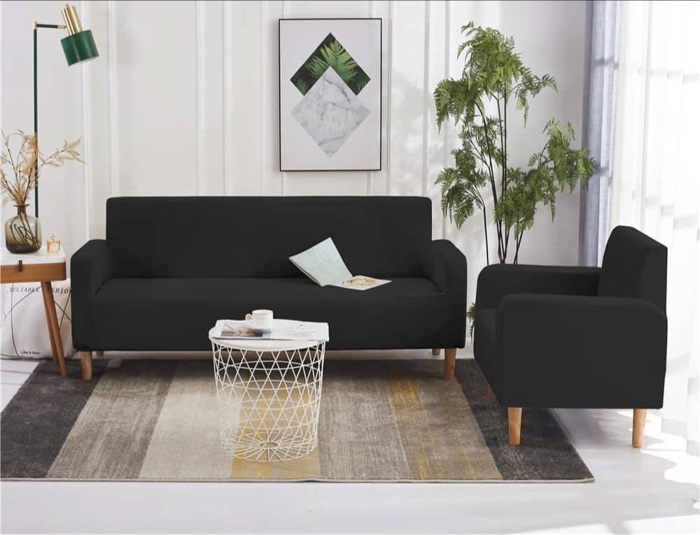 ensemble de housse fauteuil et canapé