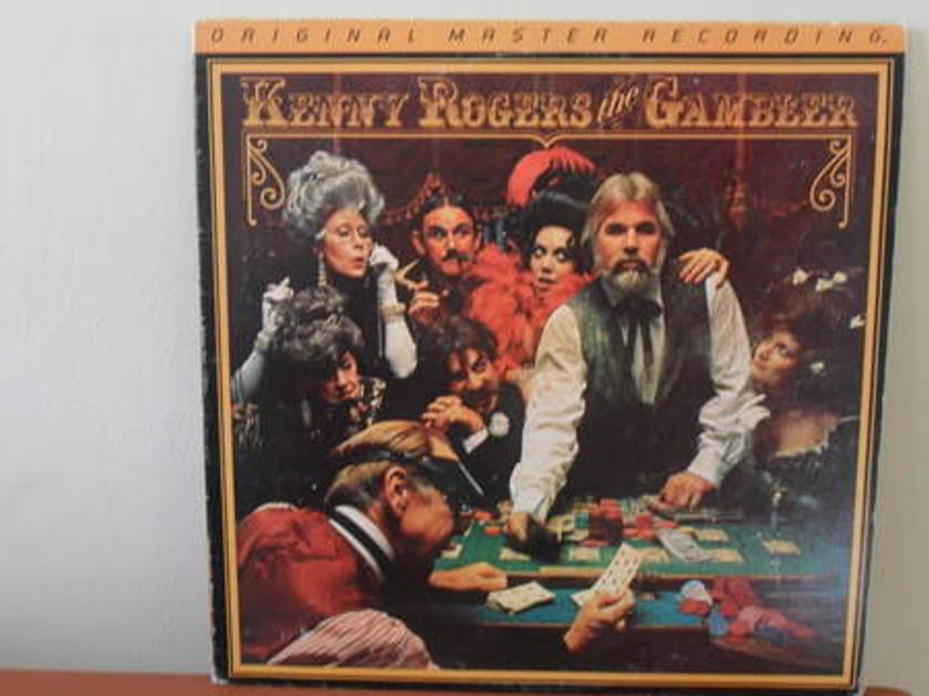 Mobile Fidelity 1/2 - SPEEd: kenny rogers the gambler; mint minus