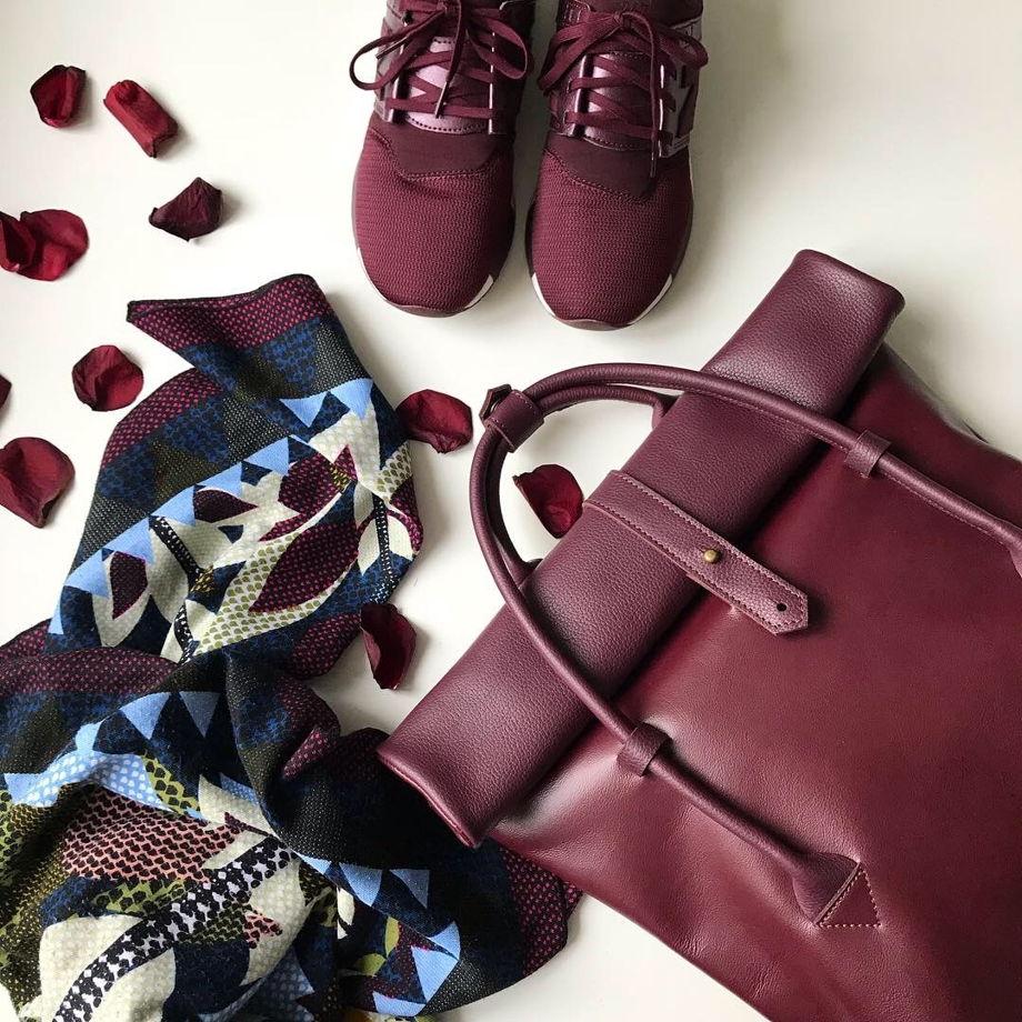 313d81da747c Кожаный рюкзак-сумка Rolltop Vineyard в магазине «The Sneg» на ...