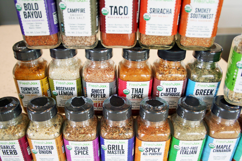 25 Organic seasonings variety pack Gift Set