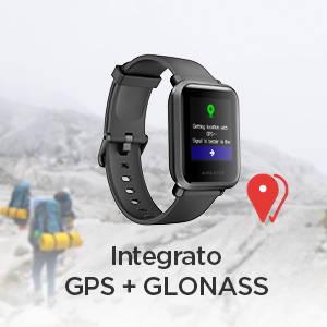 Amazfit Bip S - Integrato GPS + GLONASS.