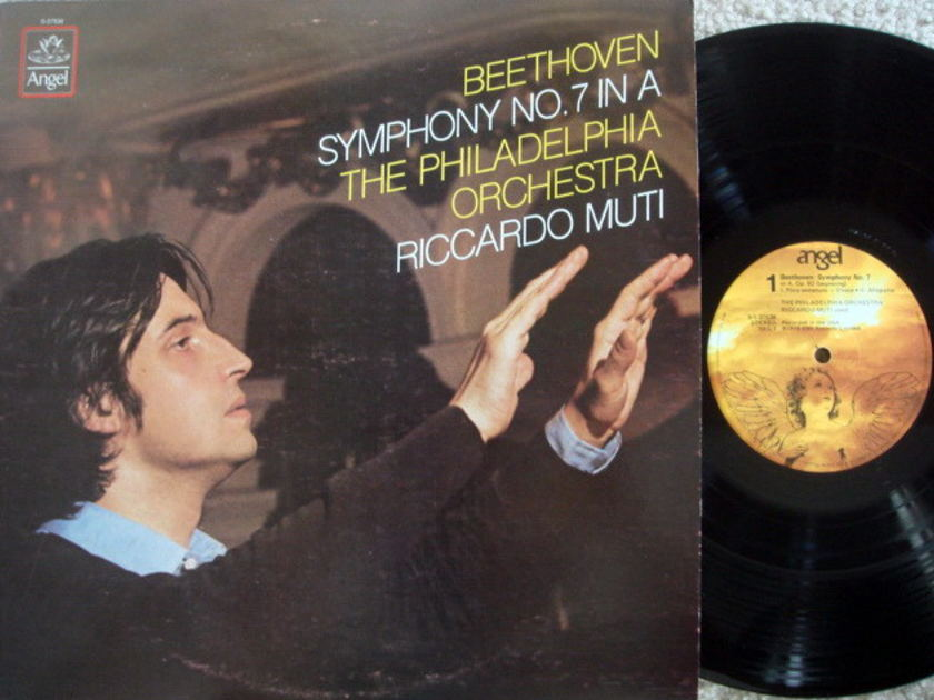 EMI Angel / MUTI, - Beethoven Symphony No.7,  MINT!