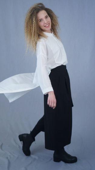 брюки | классический черный