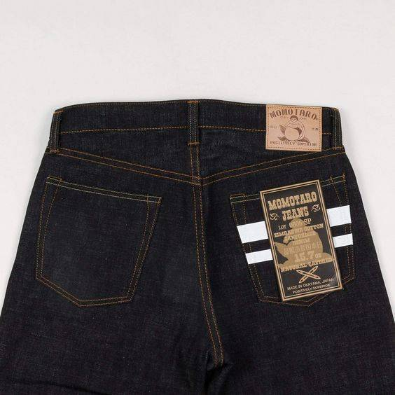 Aizome Denim from Momotaro Jeans