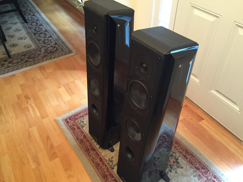 Sonus Faber Grand Piano Exceptional Floorstanding Speakers