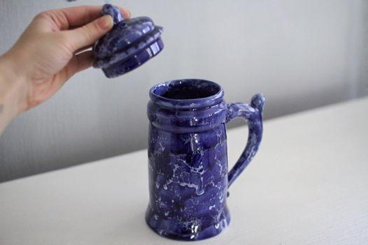 Керамический пивной бокал «Шторм»