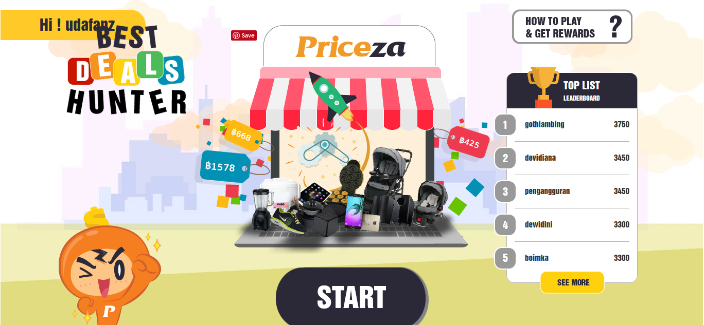 Peringkat Priceza Best Deal Hunter
