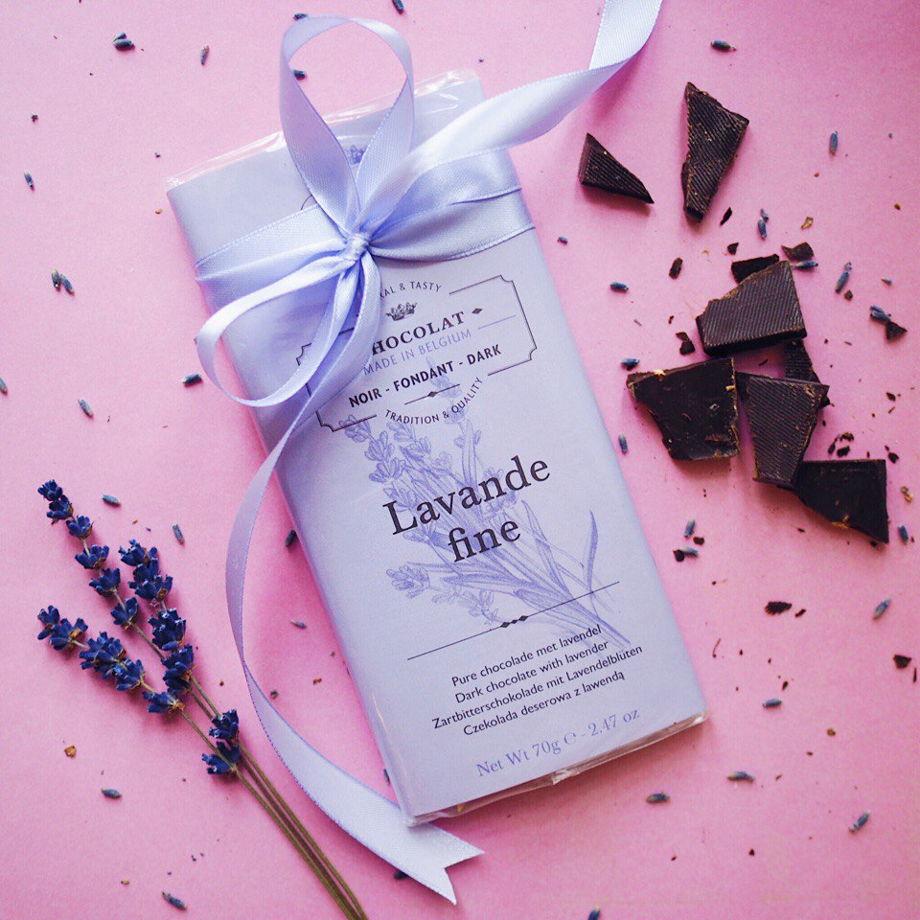 Бельгийский шоколад с лавандой