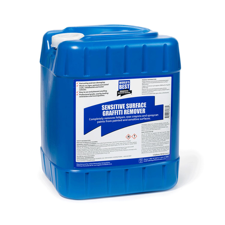sensitive surface graffiti remover 5 gallon pail