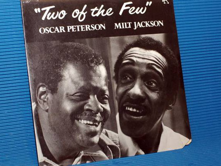 """OSCAR PETERSON - """"Two of the Few"""" -  Pablo 1983 Sealed!"""