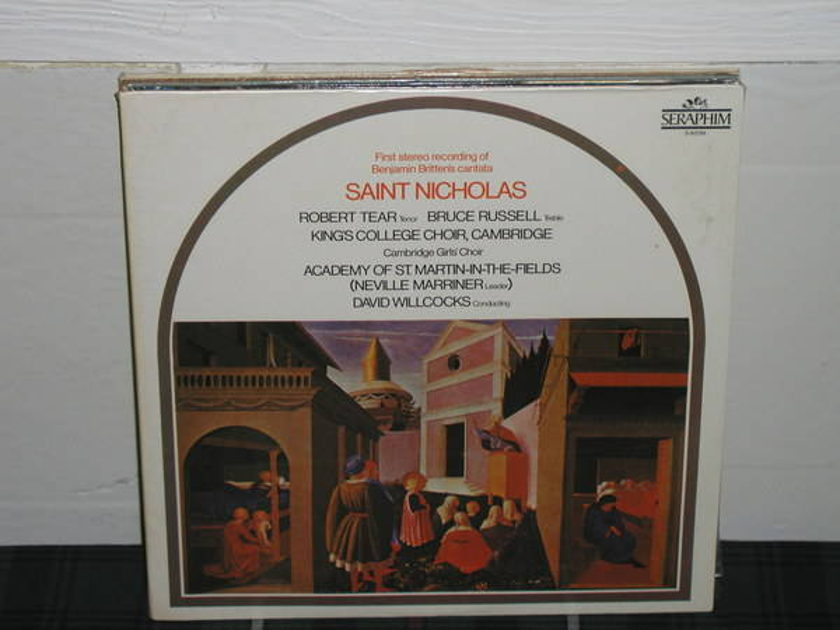 Marriner/AoStMitF - Britten Still SEALED/NEW