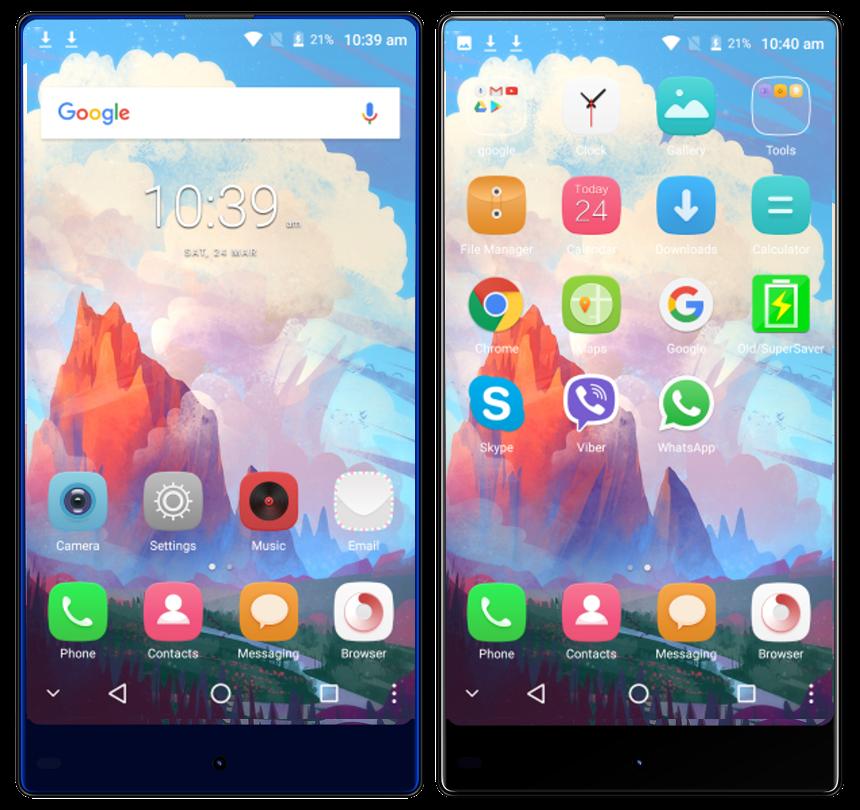 Neuclo M7 smartphone