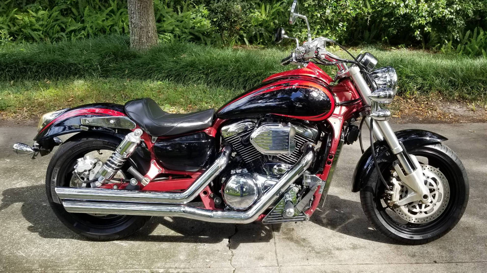 Kawasaki Vulcan 1600 Mean Streak For Rent Near Gainesville Fl