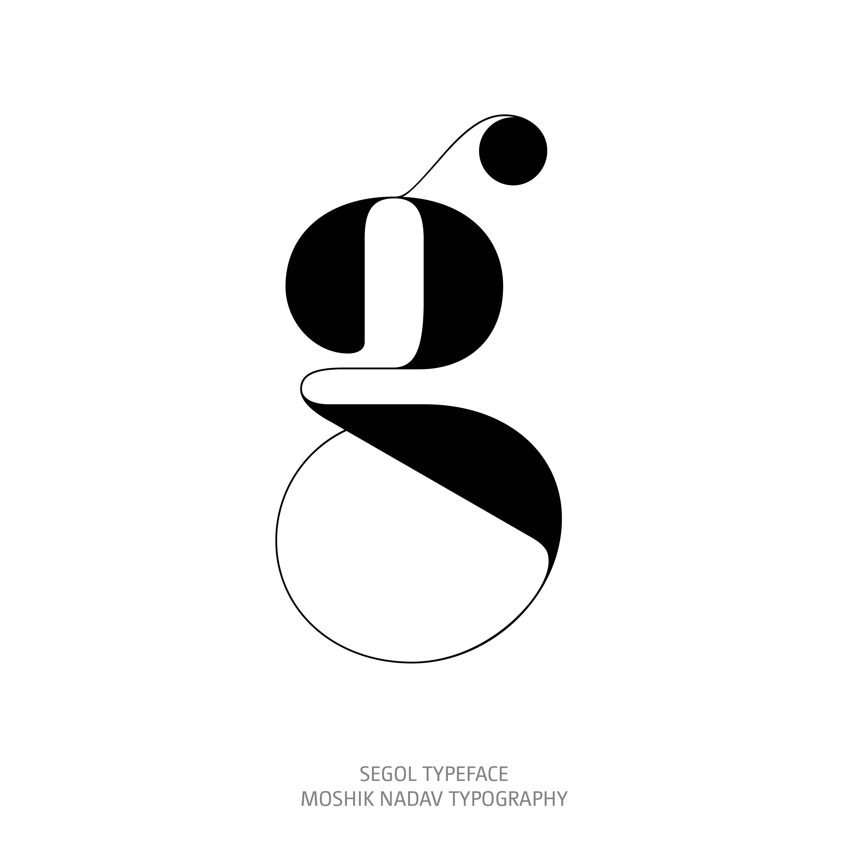 Segol Typeface g The Ultimate Font For Fashion Typography and sexy logos