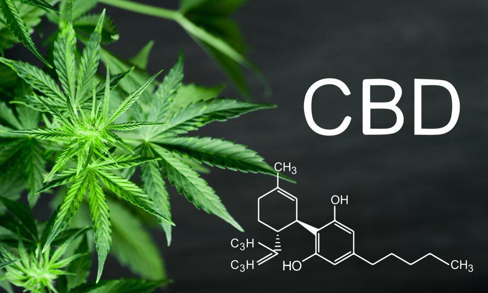CBD (Cannabidiol) Chemical Structure