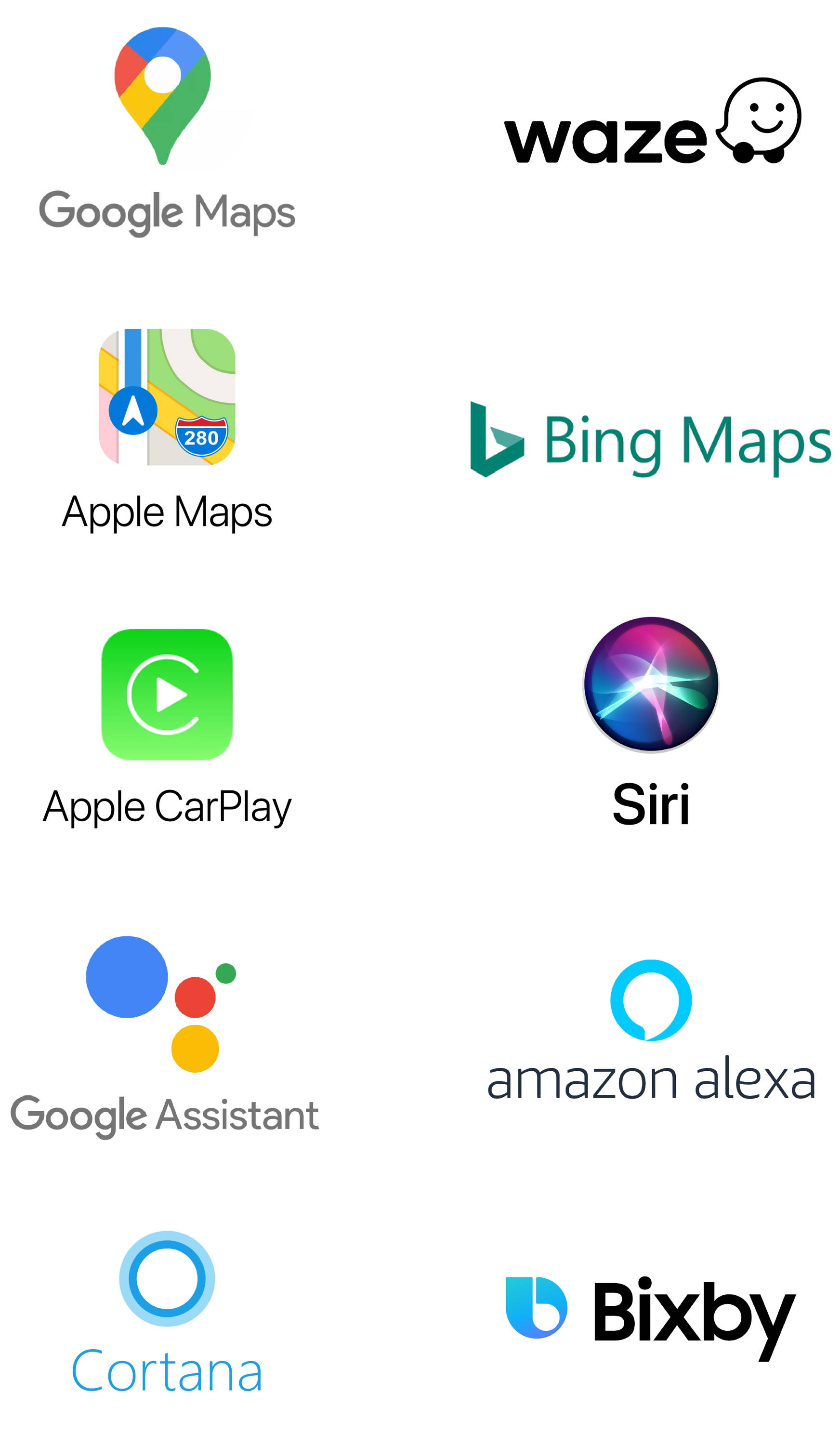map and voice search platforms