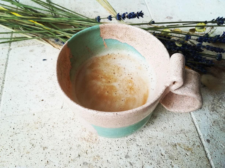 """Кружка для идеального кофе """"Мятное суфле"""" 330мл"""