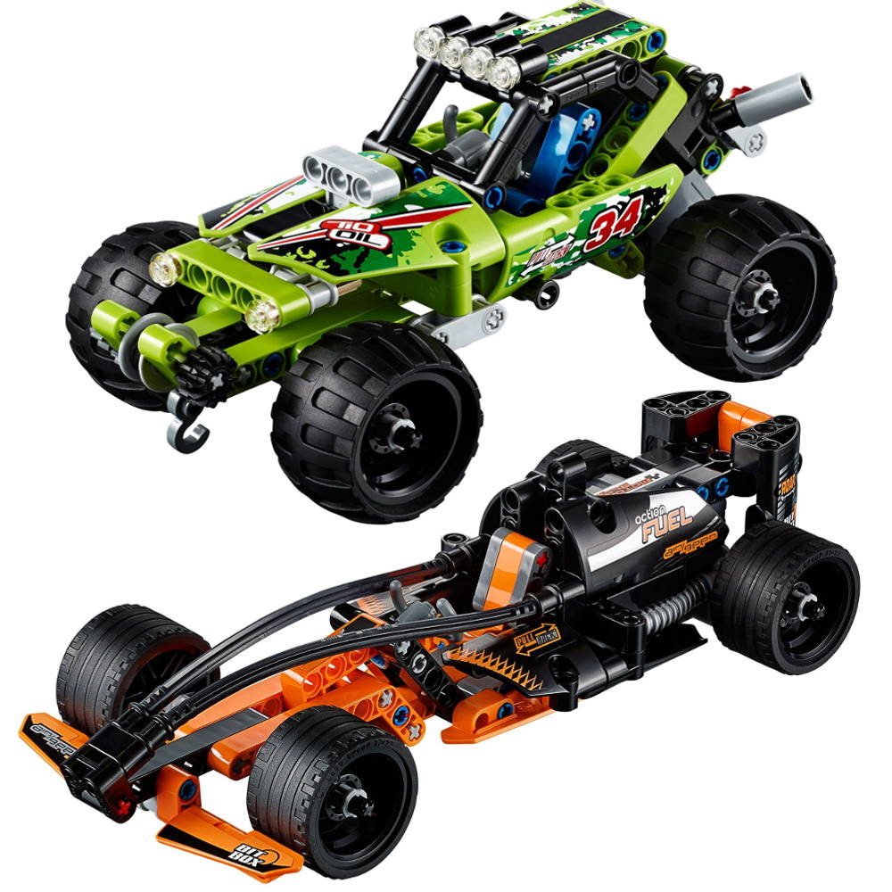 LEGO Technic Pull-Back Racers