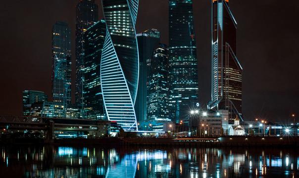 Ночная прогулка по Московским крышам