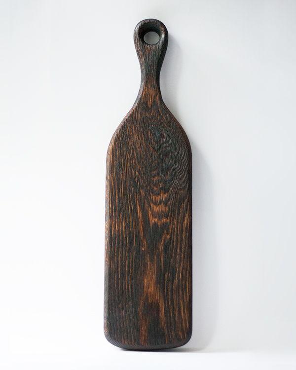 Разделочная доска из дерева брашированная