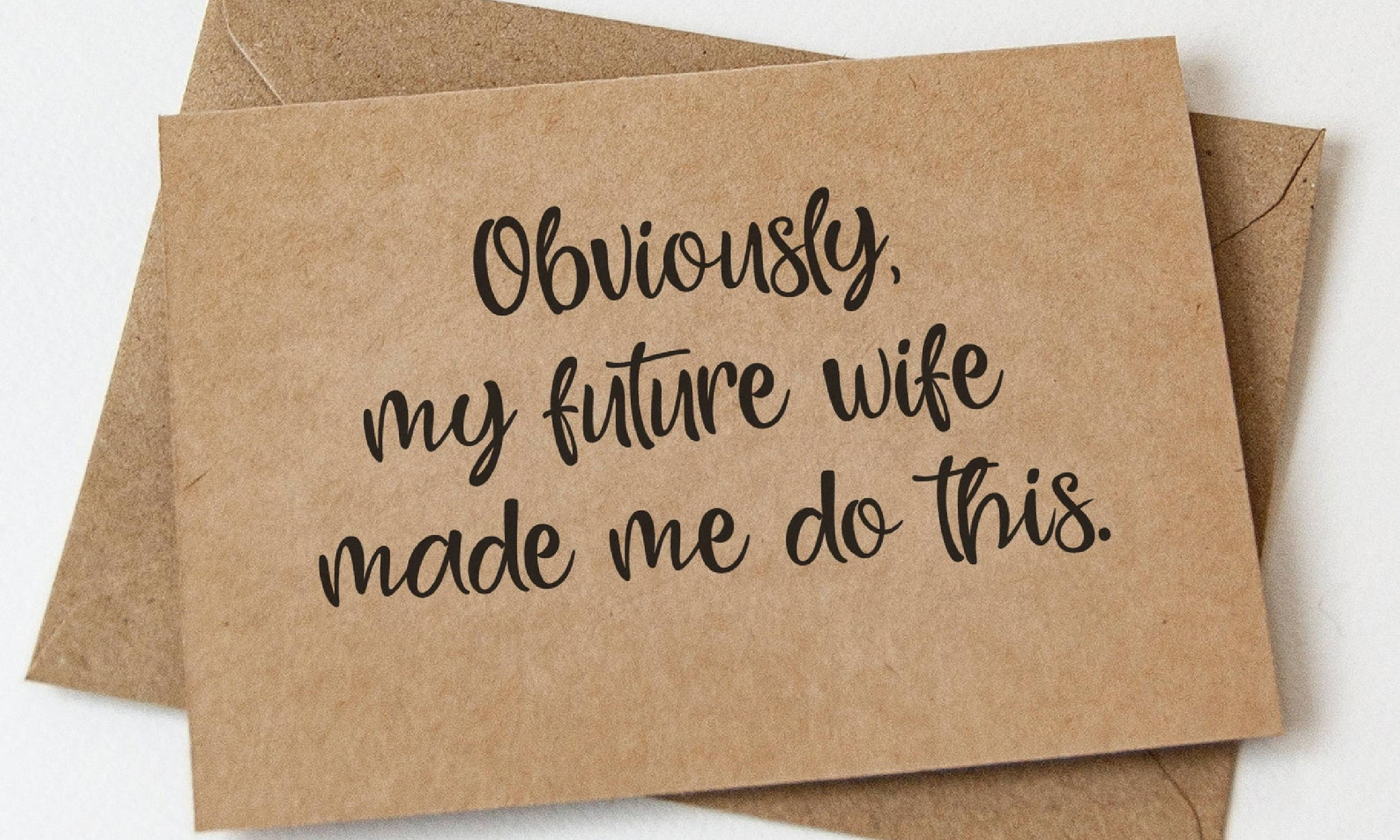 Groomsmen Proposal Card