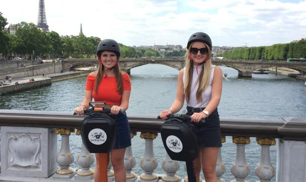 Увлекательная экскурсия по Парижу на Segway