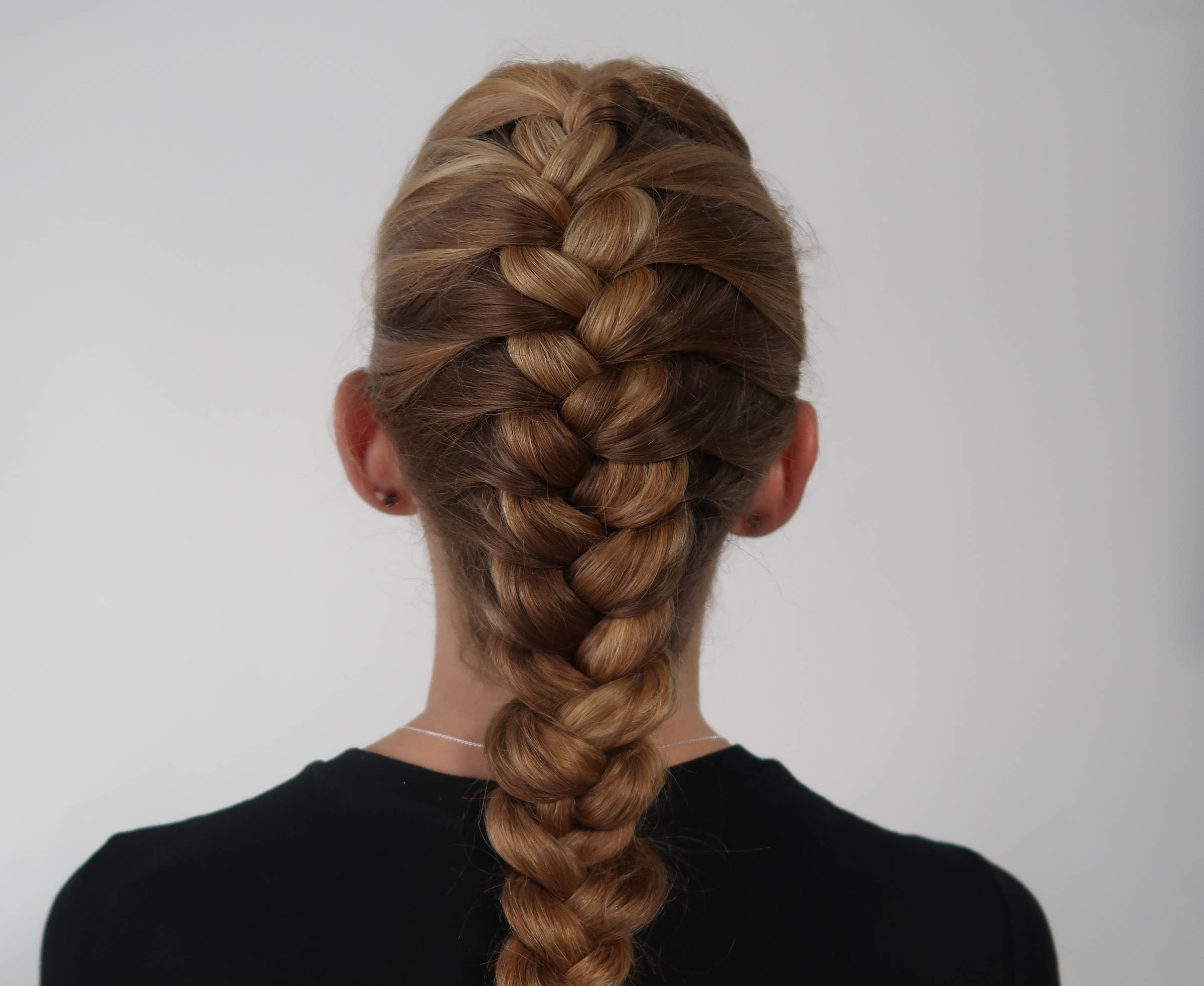 Davines french braid how to tutorial
